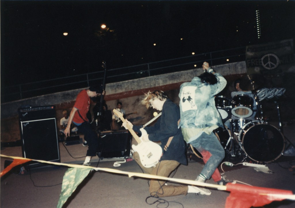 Aala Park Punk Gig 1986